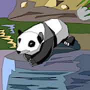 Heathers Panda V2 Art Print