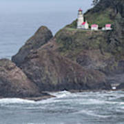 Heceta Head Light Art Print