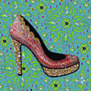 High Heel Party Art Print