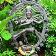 Hindu Statue  Art Print