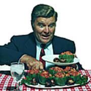 His Favorite Meal Art Print