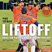 Houston Astros 2017 World Series Champions Sports Illustrated Cover Art Print