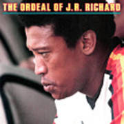 Houston Astros J.r. Richard Sports Illustrated Cover Art Print