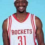 Houston Rockets Media Day Head Shots Art Print