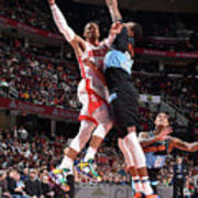 Houston Rockets V Cleveland Cavaliers Art Print