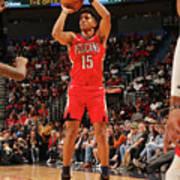 Houston Rockets V New Orleans Pelicans Art Print