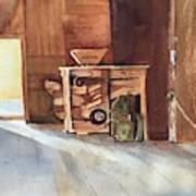 Hovander Park Old Barn, Wa Art Print