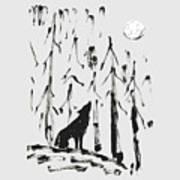 Howl #2 Art Print