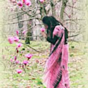 Scent Of Magnolia Art Print