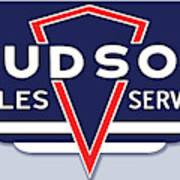 Hudson Motor Co. Art Print