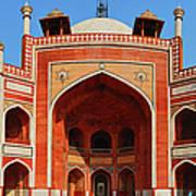 Humayuns Tomb, New Delhi Art Print