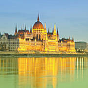 Hungarian Parliament - Budapest Art Print