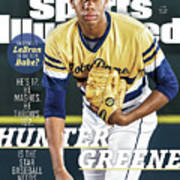Hunter Greene Is The Star Baseball Needs Sports Illustrated Cover Art Print