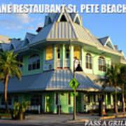Hurricane Restaurant St. Pete Beach Art Print