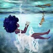 I Aint Drowning Art Print