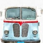 Ice Cream Food Truck Metro Van Art Print