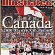 Ice Hockey, 2010 Winter Olympics Sports Illustrated Cover Art Print