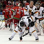 Ice Hockey - Day 9 - Germany V Belarus Art Print