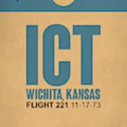 Ict Wichita Luggage Tag I Art Print