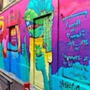 If You Love Graffiti  Art Print