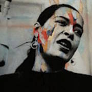 I'll Be Seeing You - Billie Holiday  Art Print