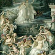 Illustration Depicting Lysander, Hermia Art Print