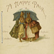 Illustration To A Happy Pair Art Print