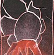 Image 23 I Was Born In A Mine Woodcut Art Print