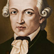 Immanuel Kant, Philosopher, Born In Konigsberg, Germany Art Print