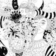 In Light And Dark Art Print