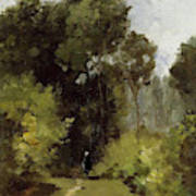 In The Woods, 1864 Art Print