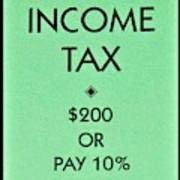Income Tax Art Print