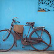 Indian Bike Art Print