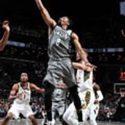 Indiana Pacers V Brooklyn Nets Art Print