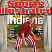 Indiana University Cody Zeller, 2012-13 College Basketball Sports Illustrated Cover Art Print