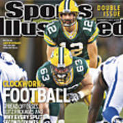 Indianapolis Colts V Green Bay Packers Sports Illustrated Cover Art Print
