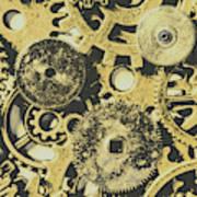 Industrialised Art Print