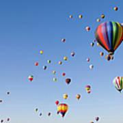 International Balloon Fiesta Art Print