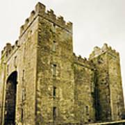 Ireland Bunratty Castle In County Art Print