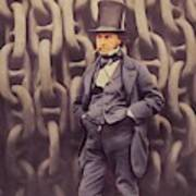 Isambard Kingdom Brunel, Genius Art Print