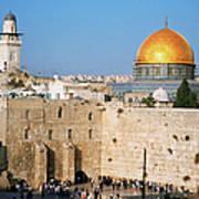 Israel, Jerusalem, Western Wall And The Art Print