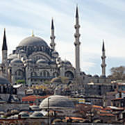 Istanbul In Turkey Art Print