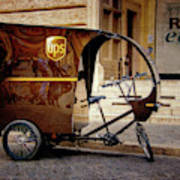 Italian Delivery Art Print