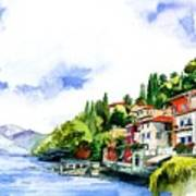 Italian Summer Vacation Art Print