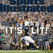 Its Lit And The 2018 Crazy Is Already Off The Charts Sports Illustrated Cover Art Print