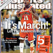 Its March Let The Madness Begin Sports Illustrated Cover Art Print