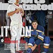 Its On Adam Wainwright And T.j. Oshie Sports Illustrated Cover Art Print