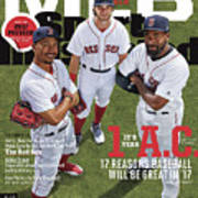 Its Year 1 A.c. after Cubs, 2017 Mlb Baseball Preview Issue Sports Illustrated Cover Art Print