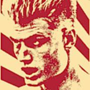 Ivan Drago Retro Propaganda Art Print