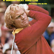 Jack Nicklaus, 1975 Masters Sports Illustrated Cover Art Print